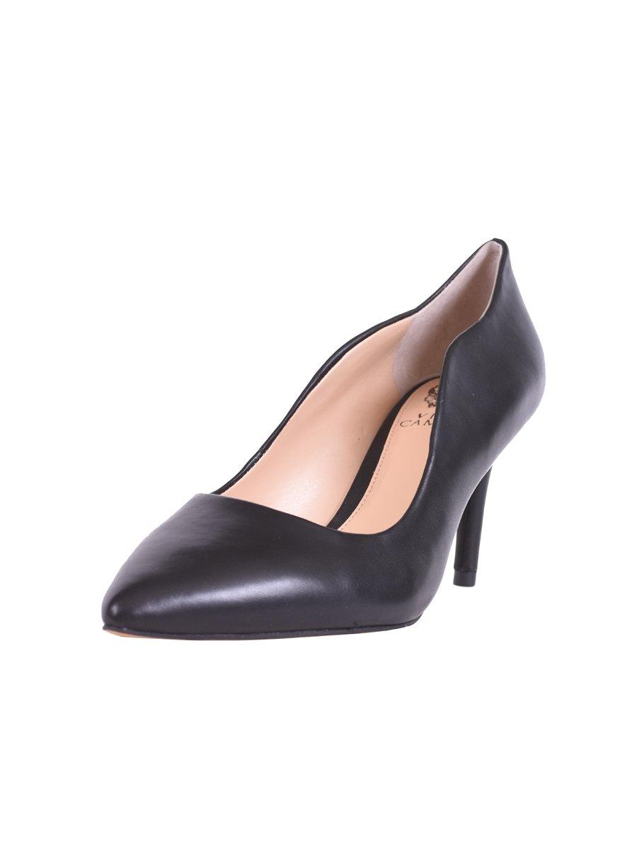 5e304803e70 Vince Camuto Women s Jaynita Leather Pointed-Toe Dress Pumps Black ...