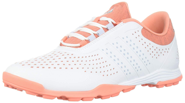 Adidas frauen adipure sport sportliche schuhe kern weiss / / / kreide korallen 4d6667