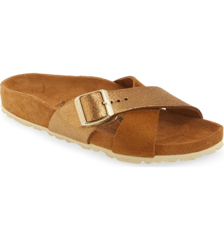 60db8752f369 Birkenstock Men s Siena Suede Sandals Allover Mink Size EU 43 US 10 ...