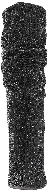 Jessica-Simpson-Women-039-s-Layzer-Embellished-Stiletto-Boots-Black thumbnail 7