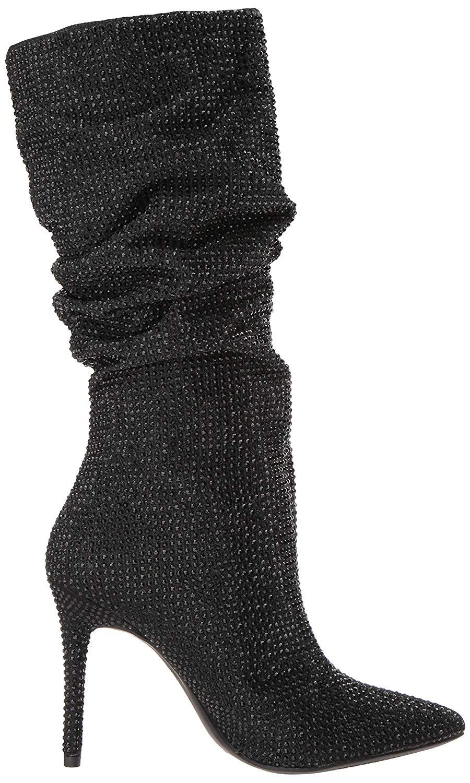 Jessica-Simpson-Women-039-s-Layzer-Embellished-Stiletto-Boots-Black thumbnail 6