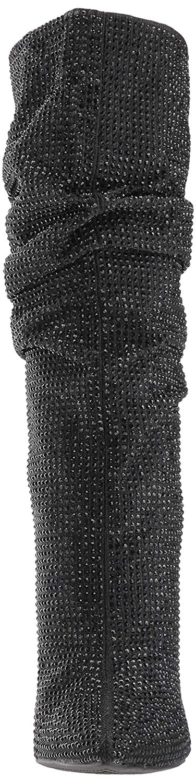 Jessica-Simpson-Women-039-s-Layzer-Embellished-Stiletto-Boots-Black thumbnail 35
