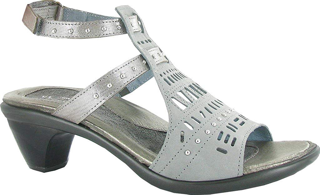 NAOT Wouomo Vogue Leather Ankle -Strap  Heeled Sandals Light grigio  trova il tuo preferito qui
