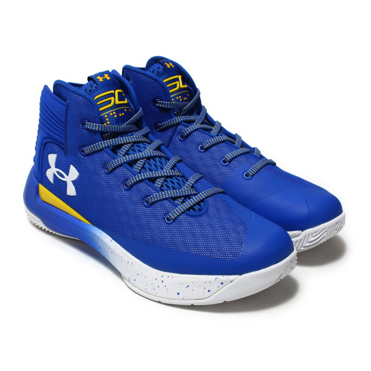 official photos cc178 b530f Details about Under Armour Men's Curry 3 Zero Athletic Basketball Shoes  Blue Size 13.0M