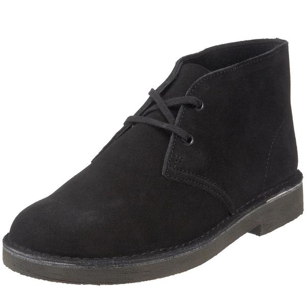 3e3c34f906824 Clarks Original Toddler Desert Lace Up Ankle Boots Black Suede