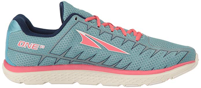 Altra Footwear Women's One V3 Road Running Athletic Athletic Athletic shoes Light bluee Coral 0f8839