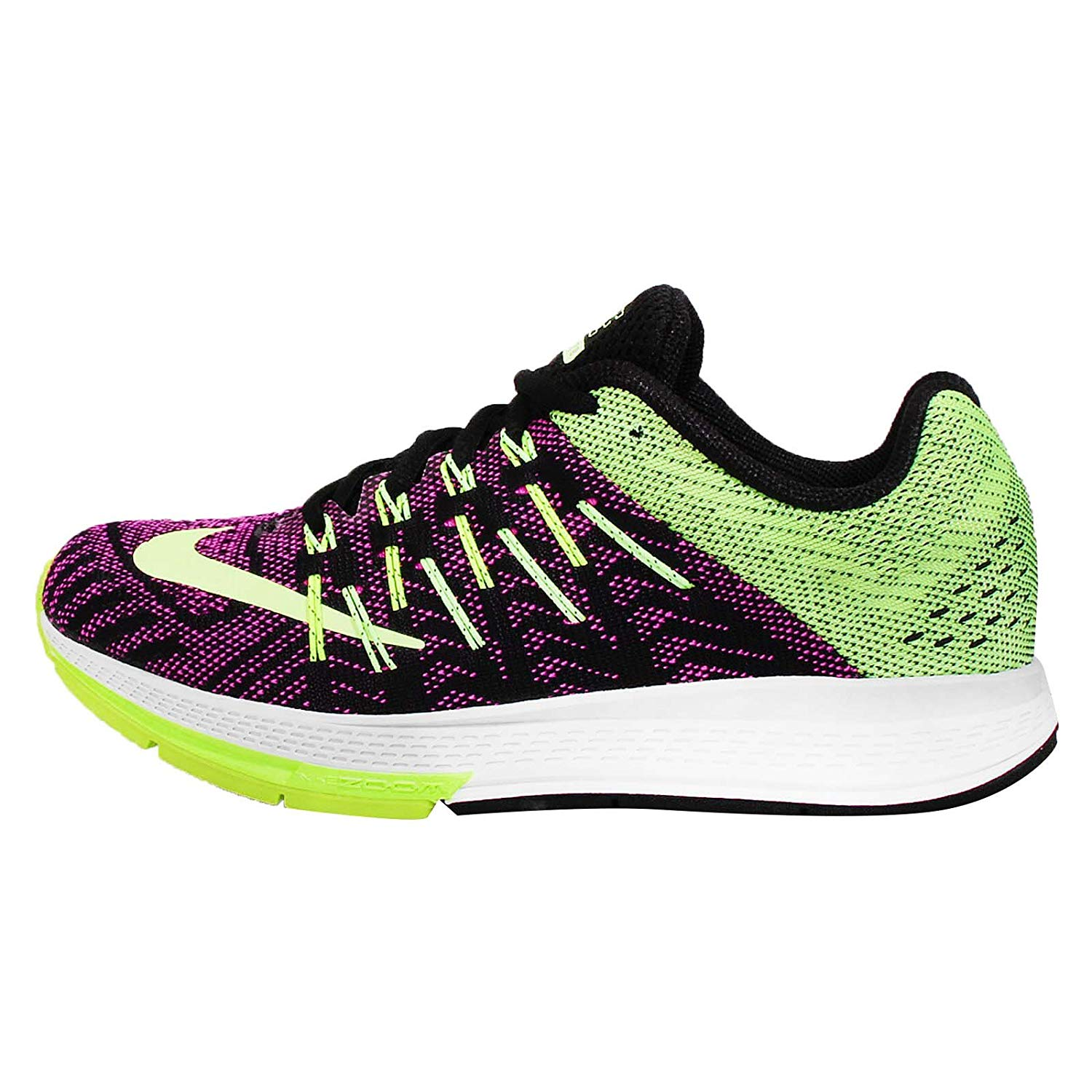 best website 379d7 7183e Details about Nike Women s Air Zoom Elite 8 Shoes Black Ghost Green-Volt-Pink  Pow Size 8.5M