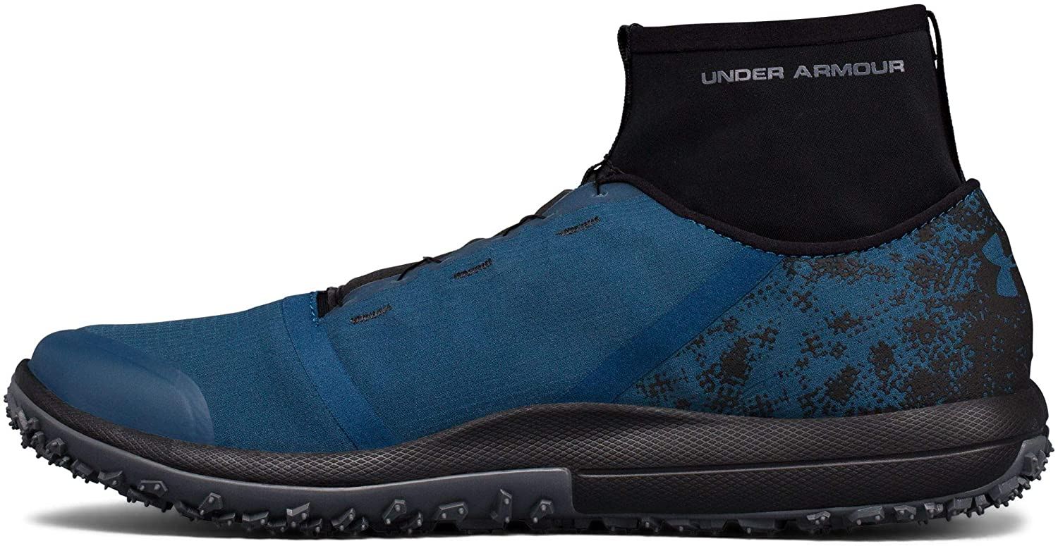 Under Armour Speed Tire Ascent Mens Blue Running Sports Shoes Trainers 13 For Sale Online Ebay