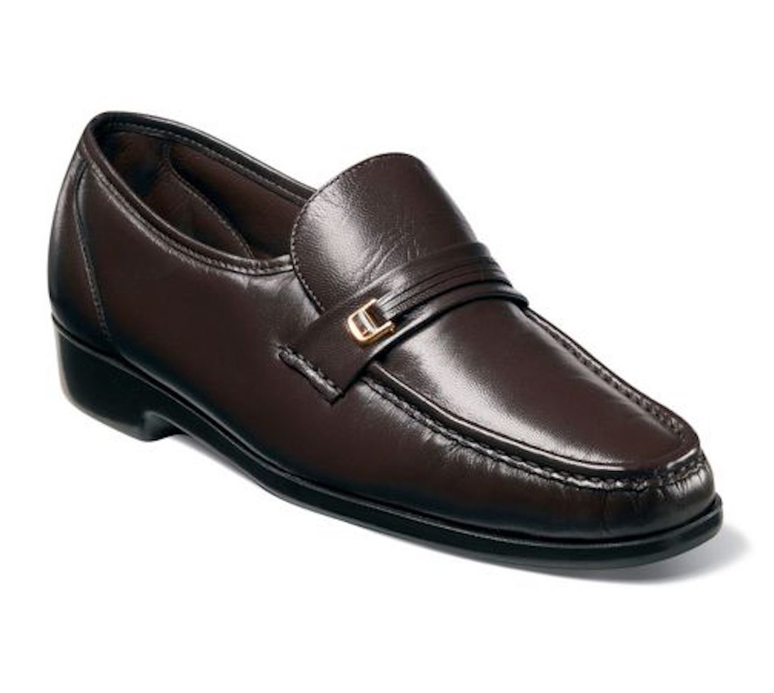 Florsheim Men S Riva Slip On Dress Up Leather Shoes Ebay