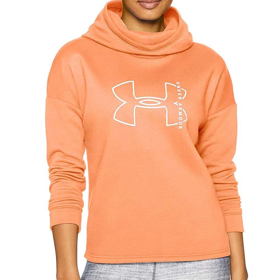 Under Armour Womens Rival Fleece Big Logo Hoodie