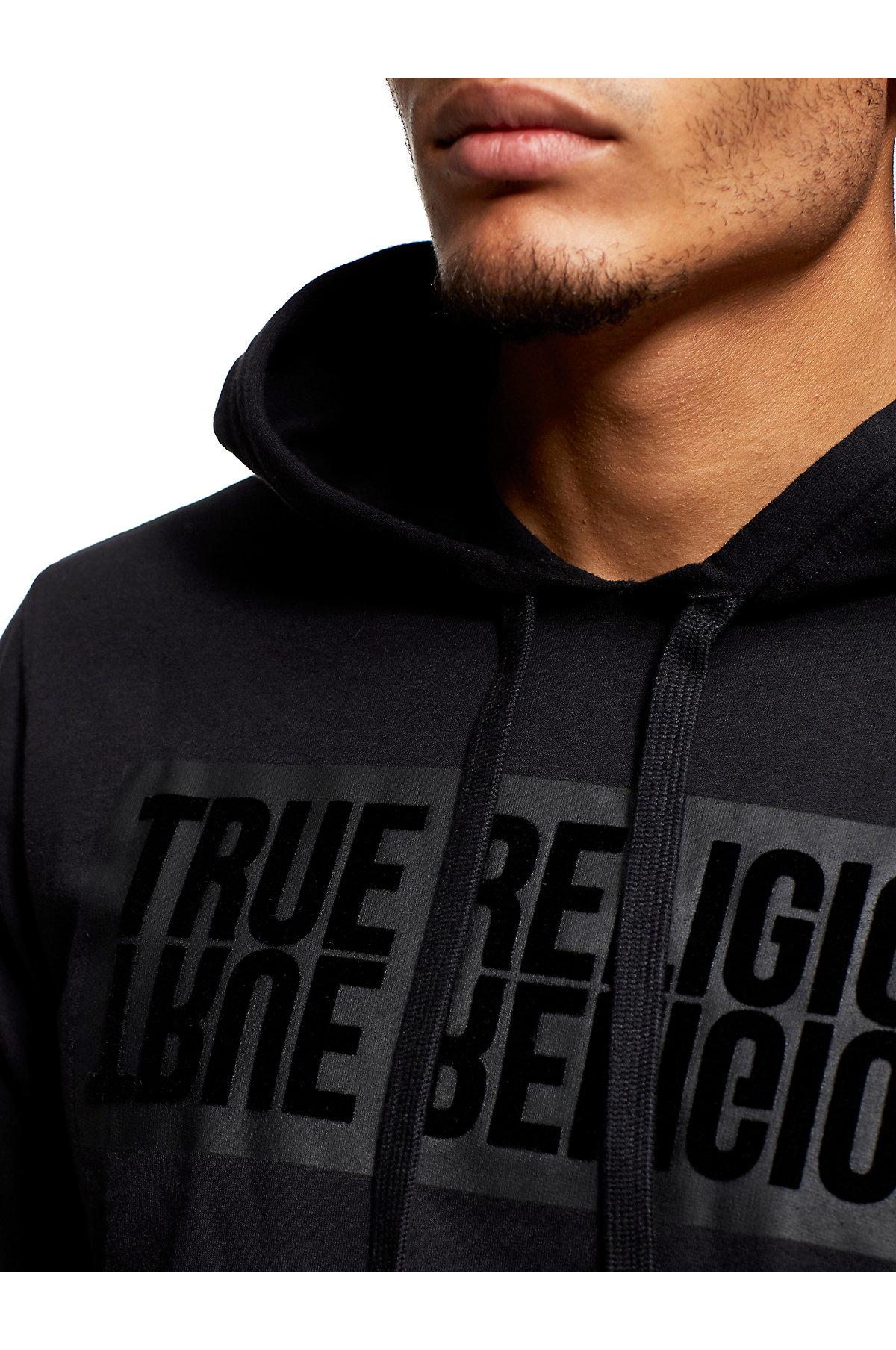 True-Religion-Men-039-s-Mirror-Logo-Reflection-Pullover-Hoodie-Sweatshirt thumbnail 11