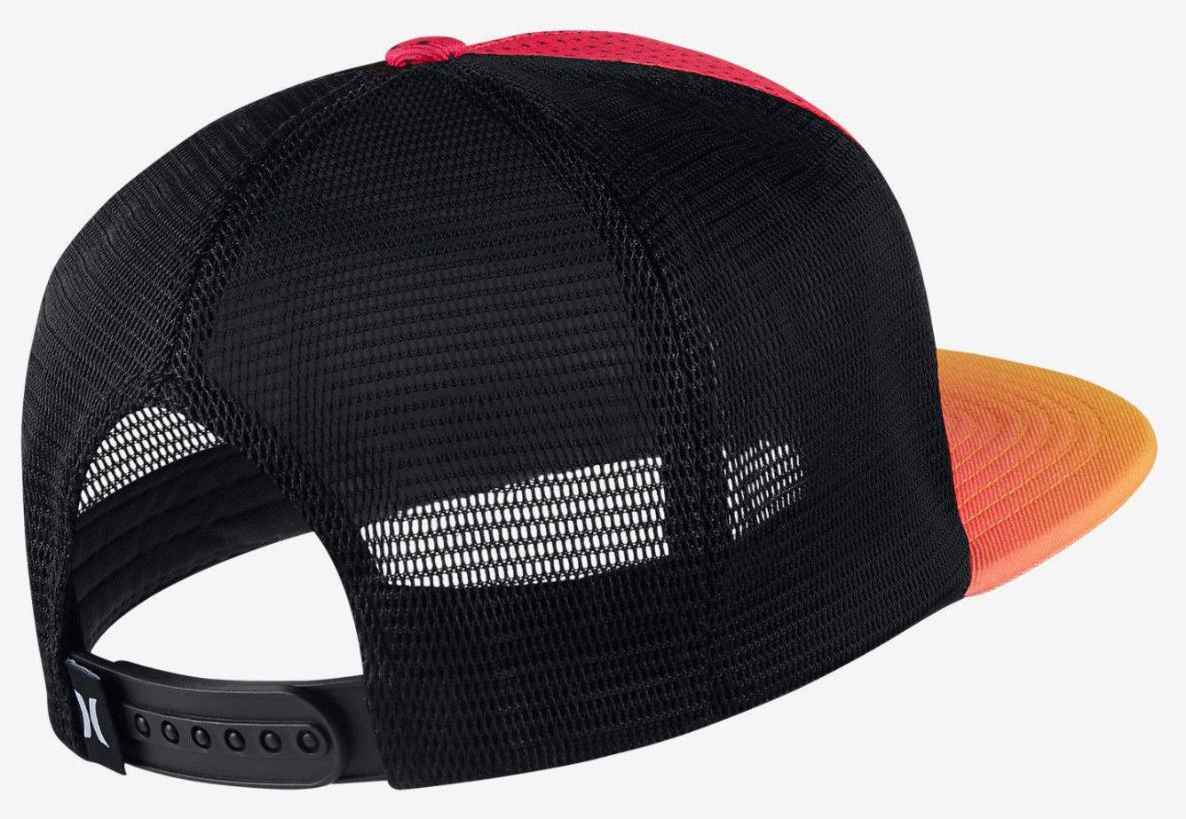 59c517ba5f4d Hurley Men s Third Reef Trucker Hat Cap