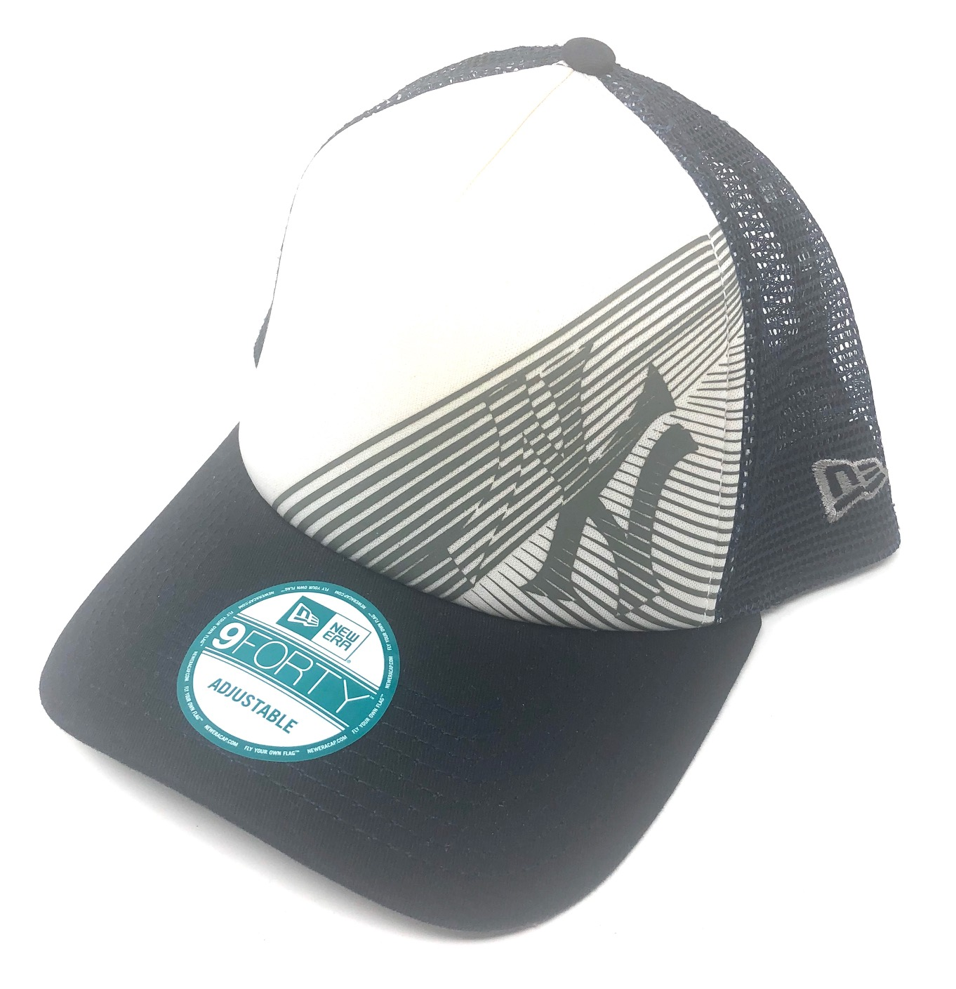 Oakley-Men-039-s-New-York-Yankees-New-Era-9FORTY-MLB-Baseball-Trucker-Hat-Cap miniature 13