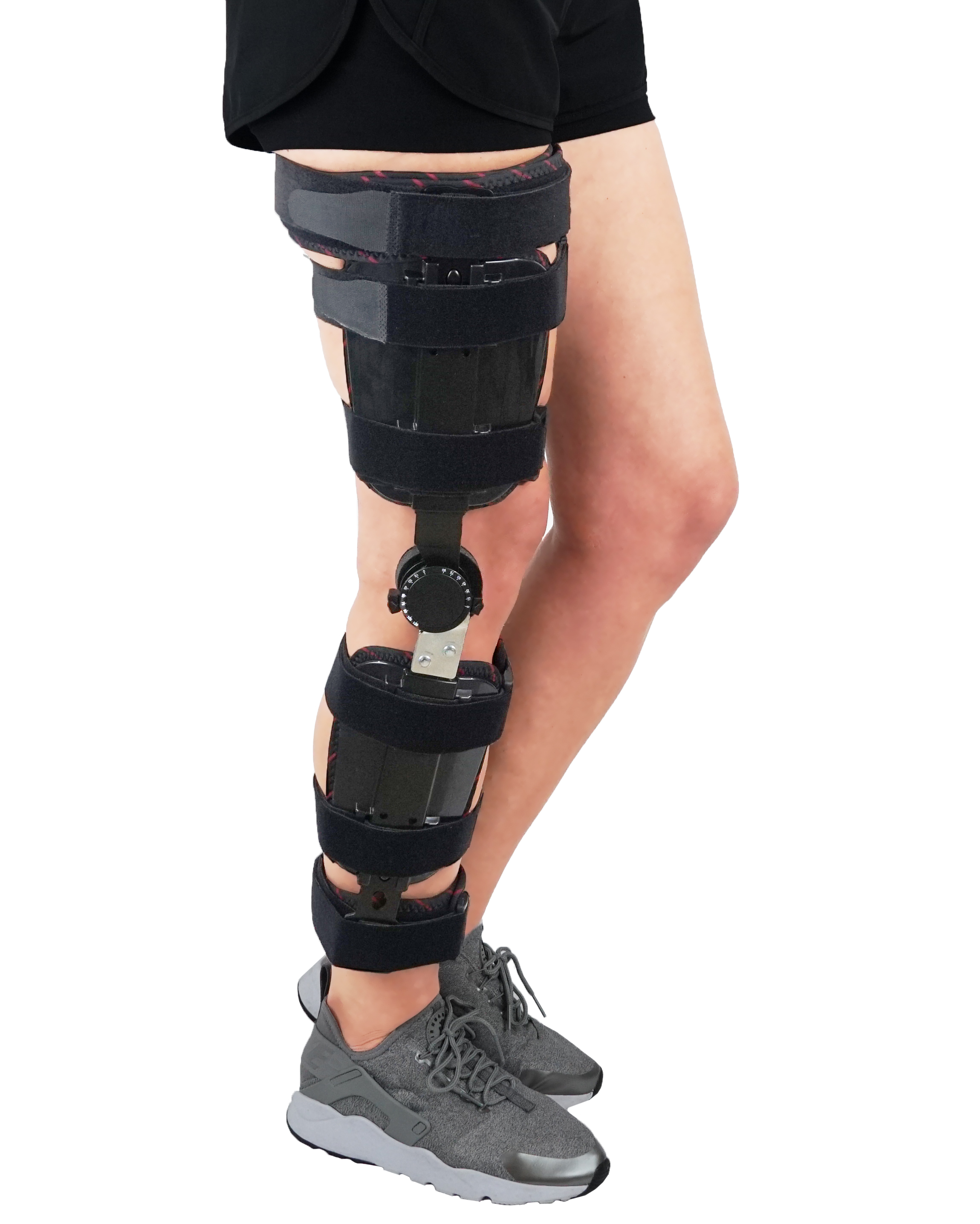 8f02489a29 Hinged Adjustable Knee Brace Support Stabilizer Immobilizer ...