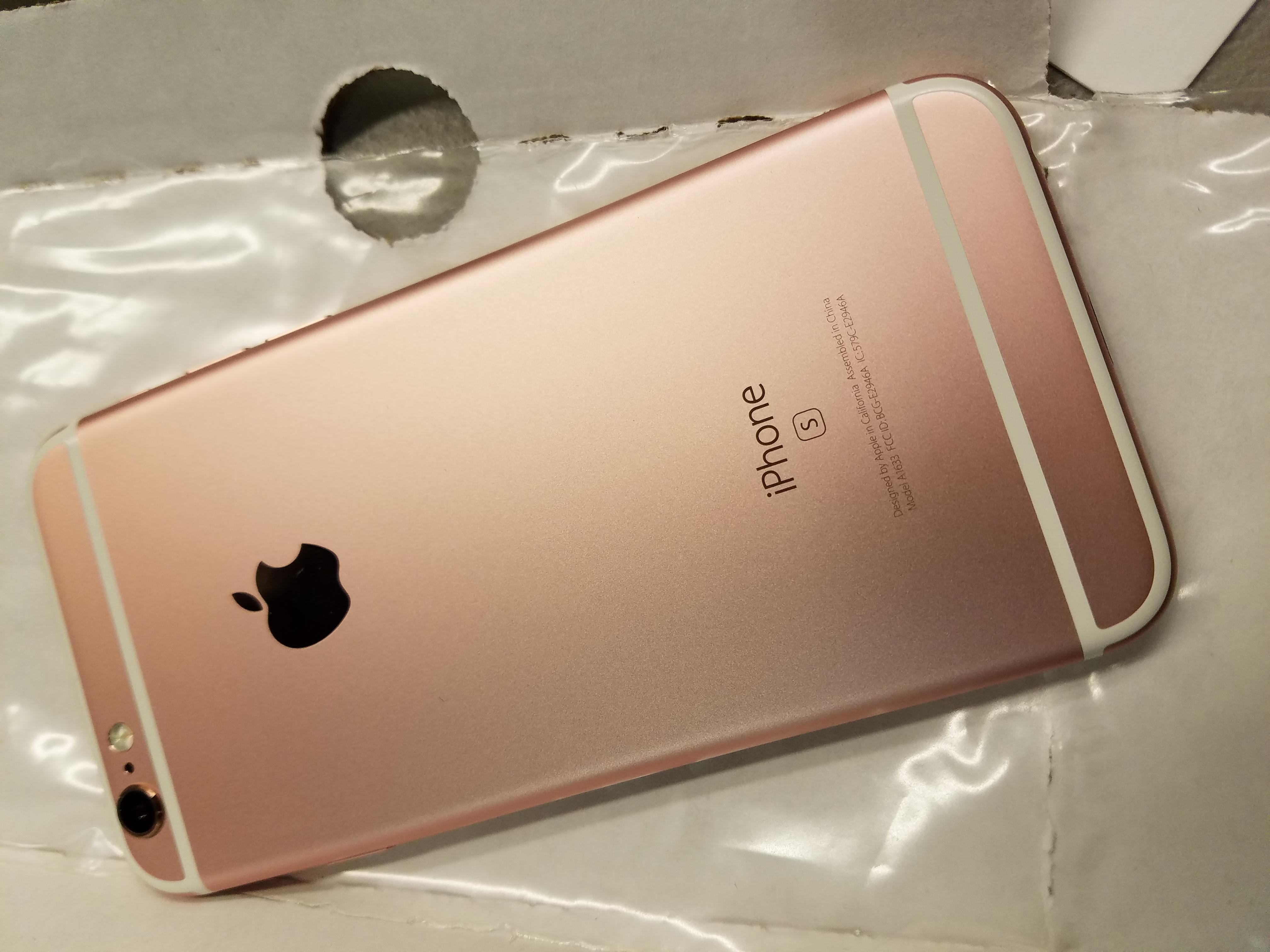 GSM UNLOCKED iPhone 6/6S/6S Plus - 16GB/64GB - Rose Gold ...