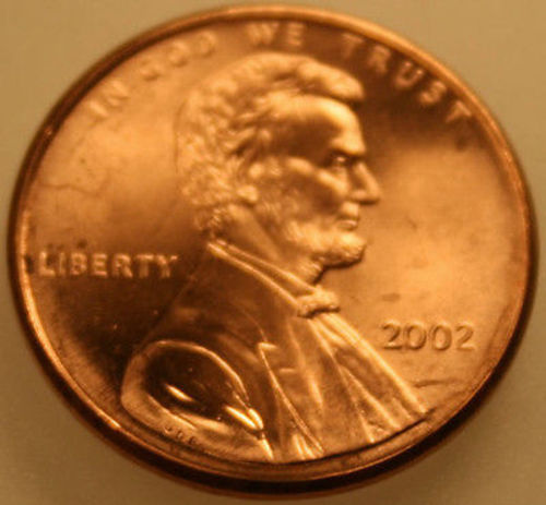 2001-D Lincoln Memorial Cent Uncirculated BU Red Penny Nice No Problem Coin