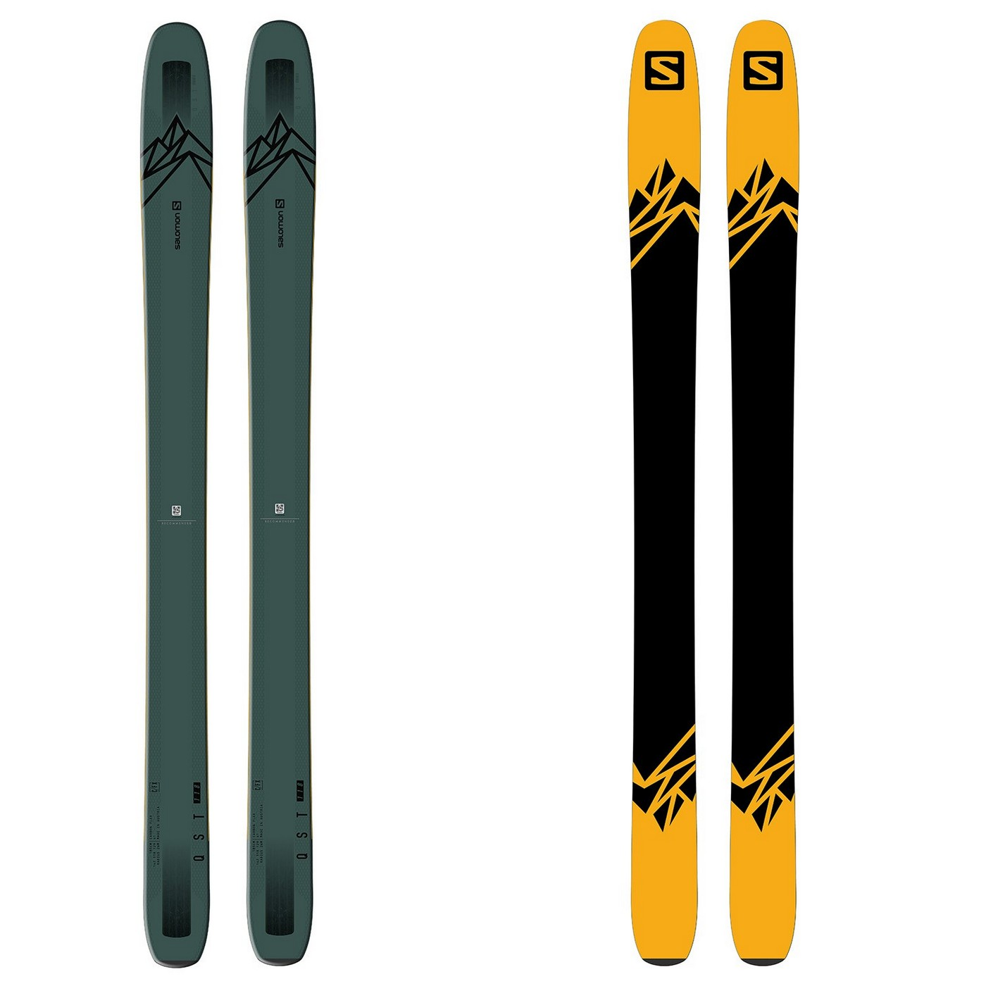 Salomon QST 118 Powder Ski + S/Lab Shift Backcountry