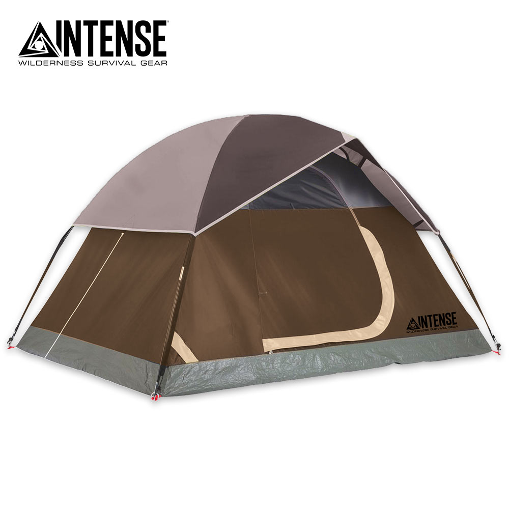 Intense Willow 2 Person 3 Season Family Dome Waterproof Camp