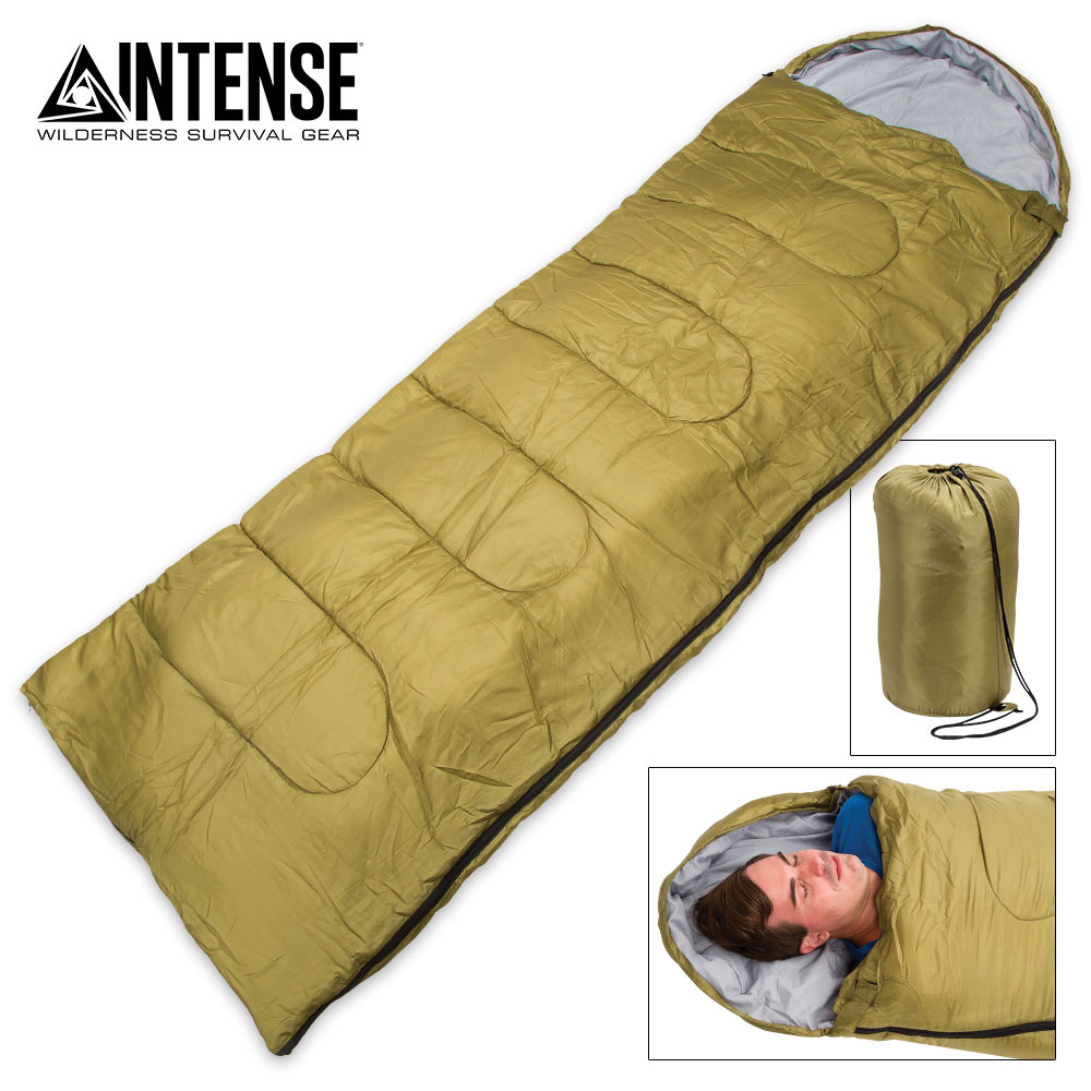Details About Lightweight Mummy Sleeping Bag Camping Backng Winter Cold Weather Compact