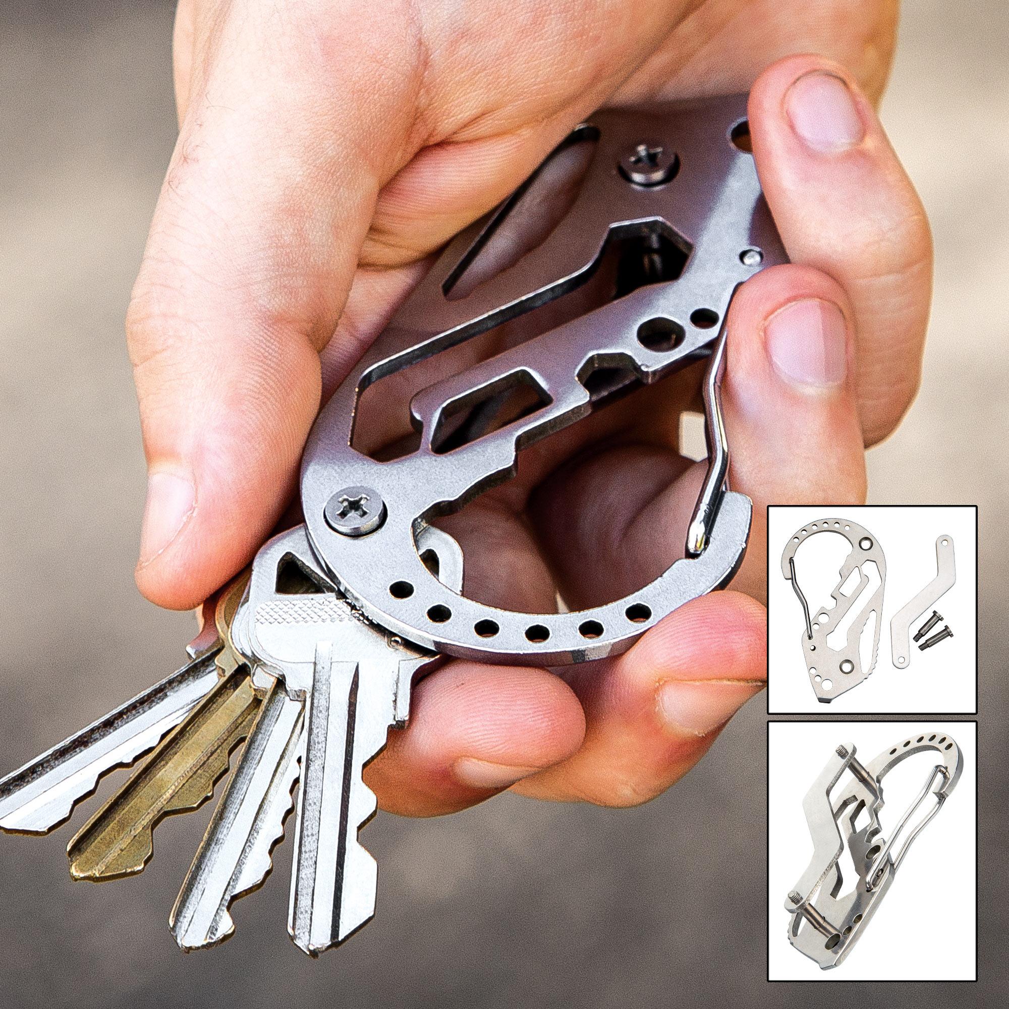 NEW Aluminum Smart Key Pocket Wallet Holder DIY Keychain EDC Multiple Keys 2020