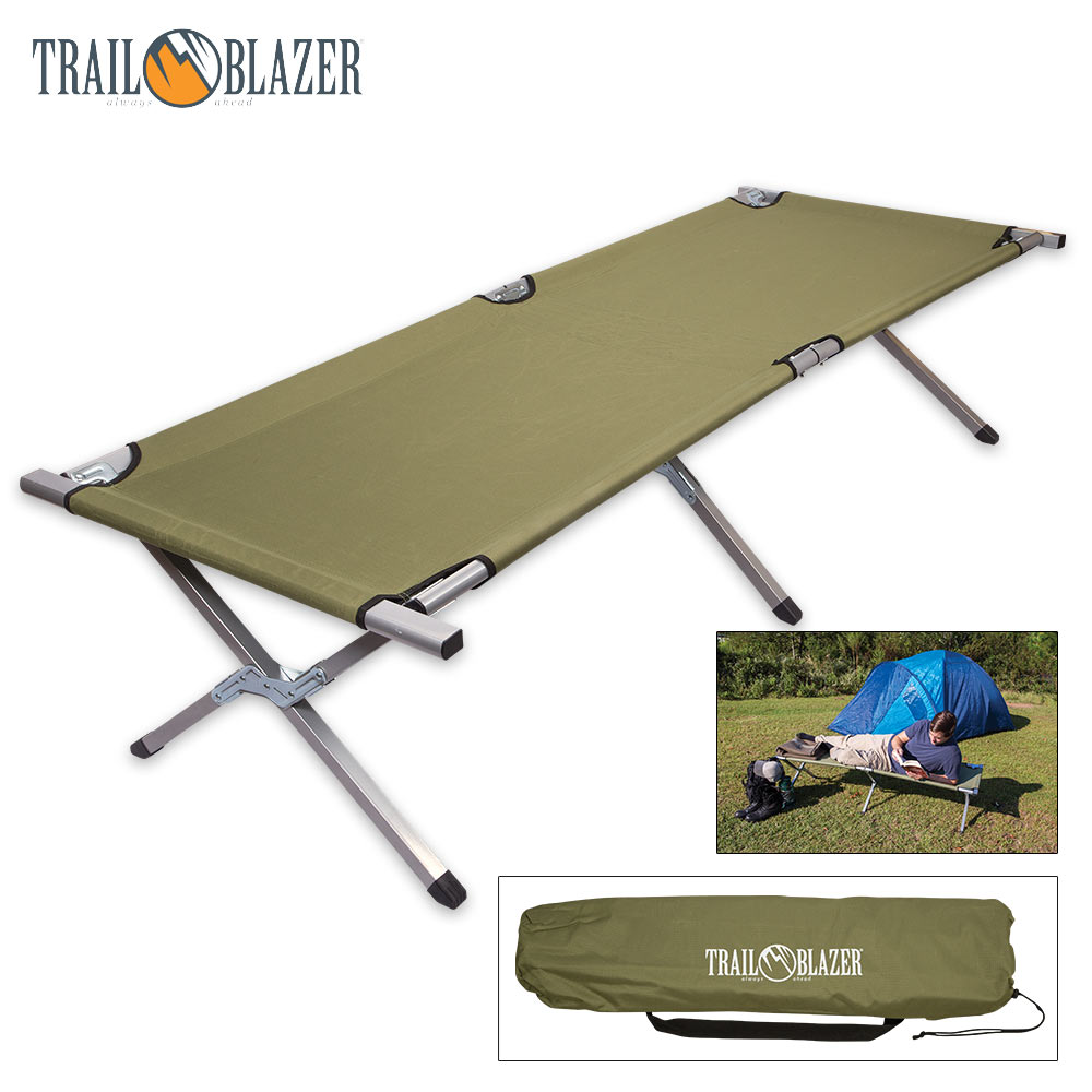 - Compact Folding Camping Bed Outdoor Portable Military Cot Sleeping Hiking  Travel EBay