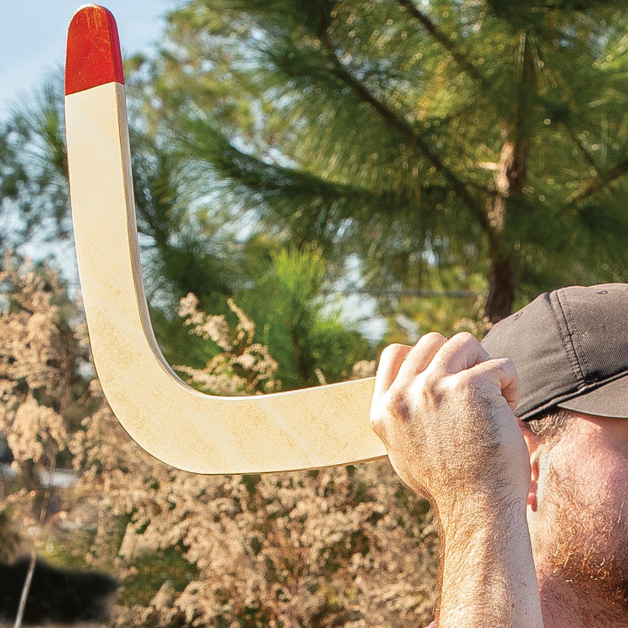 Men's Accessories Rothco 11586 Wooden Boomerang Backyard Games