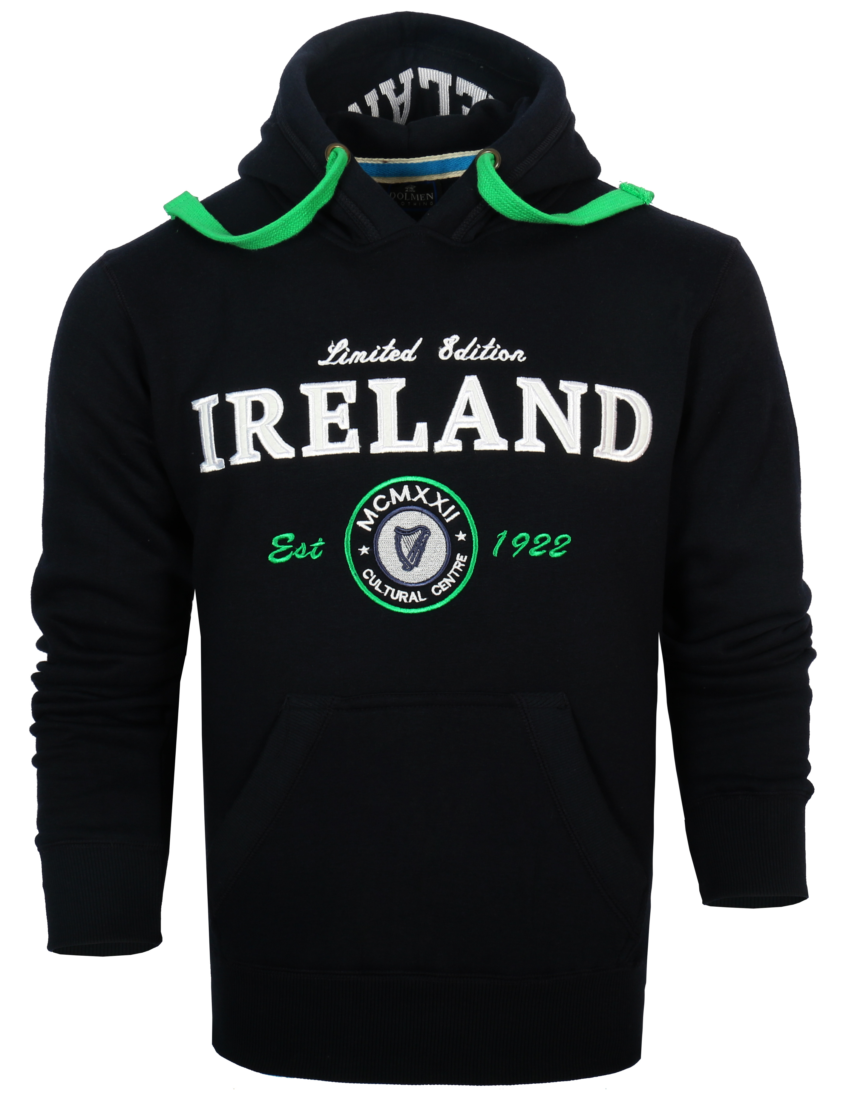 Navy Ireland 4 Province Crest Hoodie