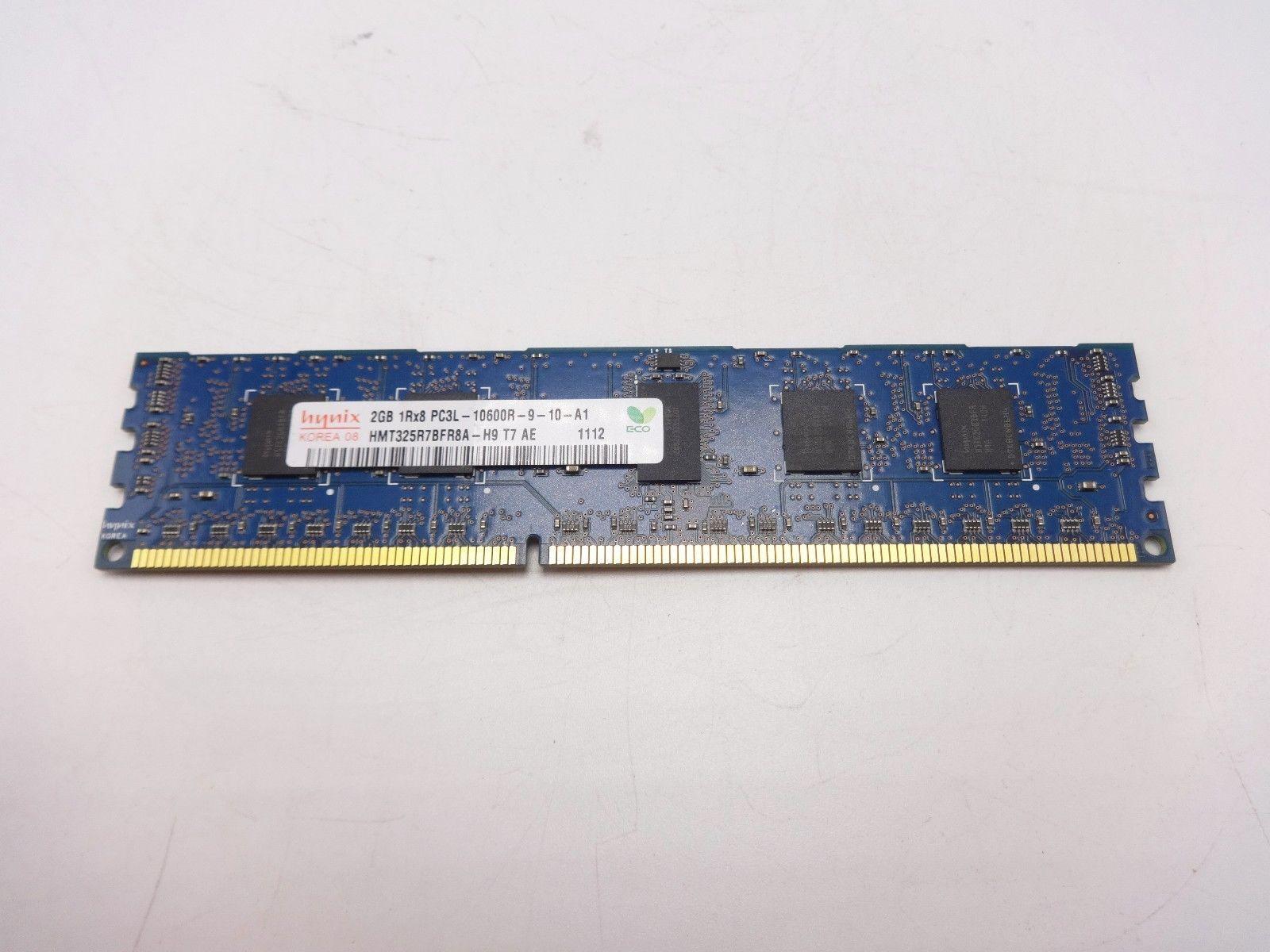 Hynix HMT325R7BFR8A-H9 2GB 1Rx8 PC3L-10600R DDR3 ECC Registered