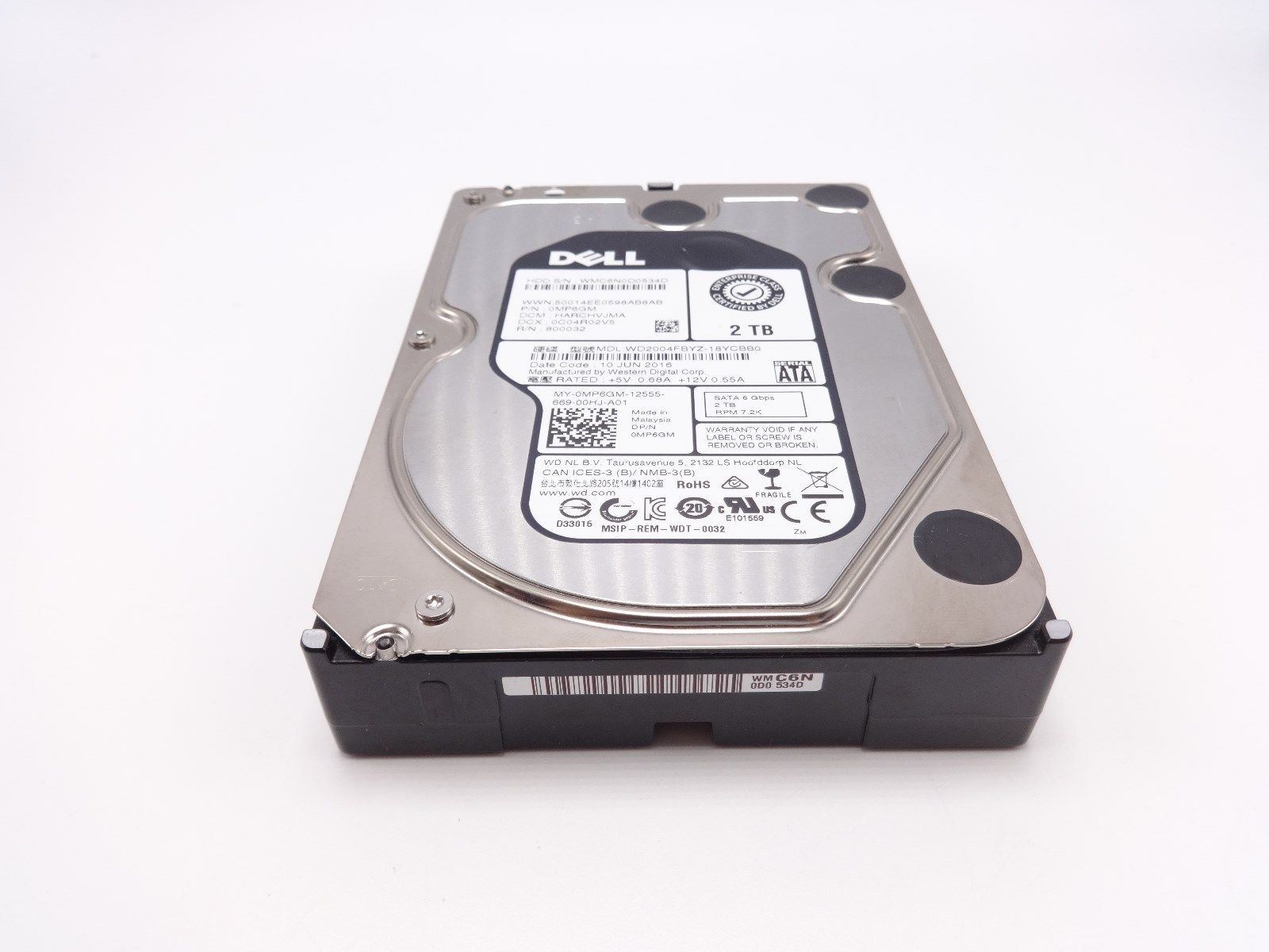 "1 Year Warranty New Dell PowerEdge T610 750GB SATA 2.5/"" Hard Drive"