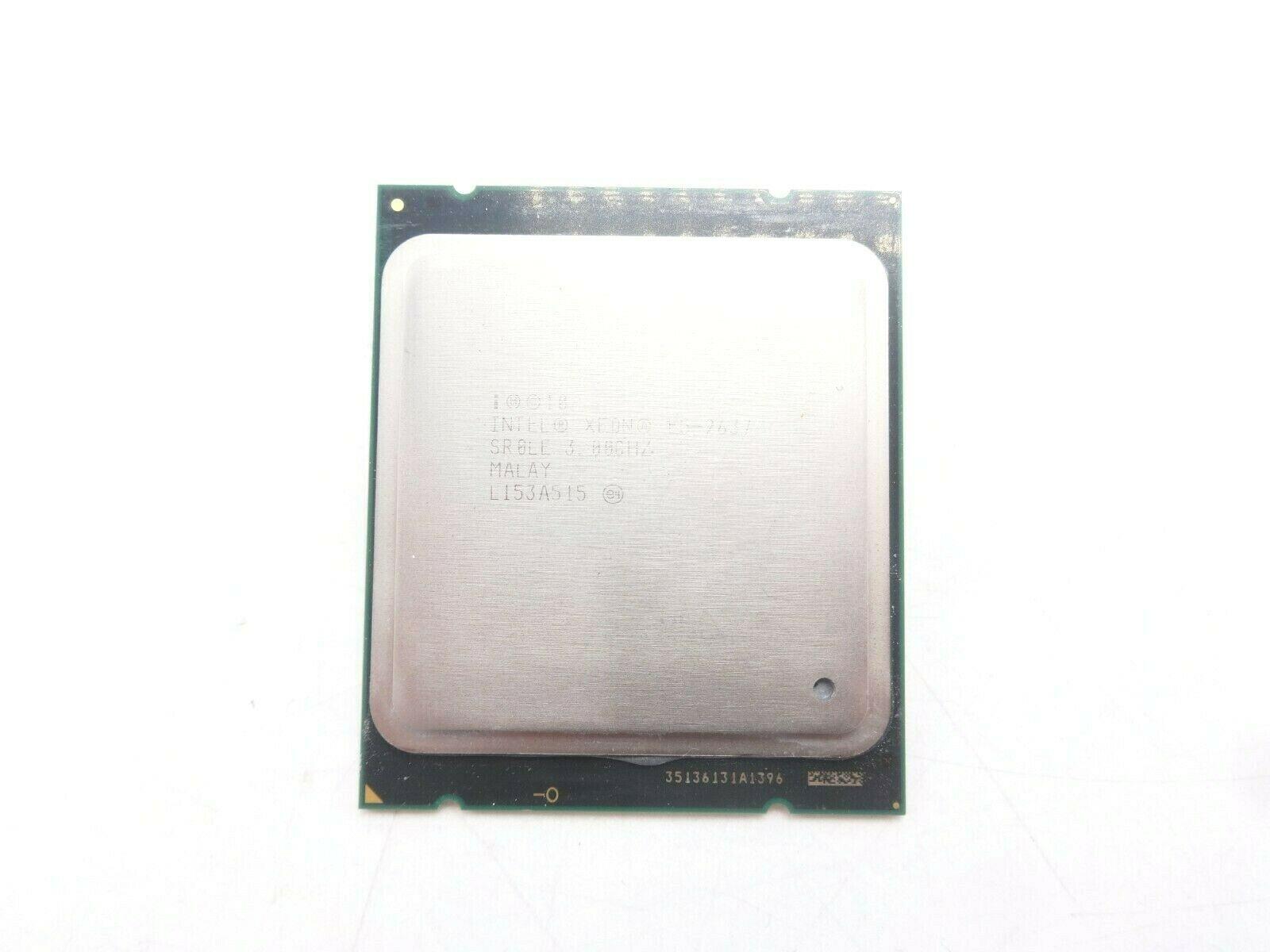 Intel SR0LE Xeon E5-2637 Dual Core 3.0GHZ 5MB CPU 670539-001 w// Thermal Grease