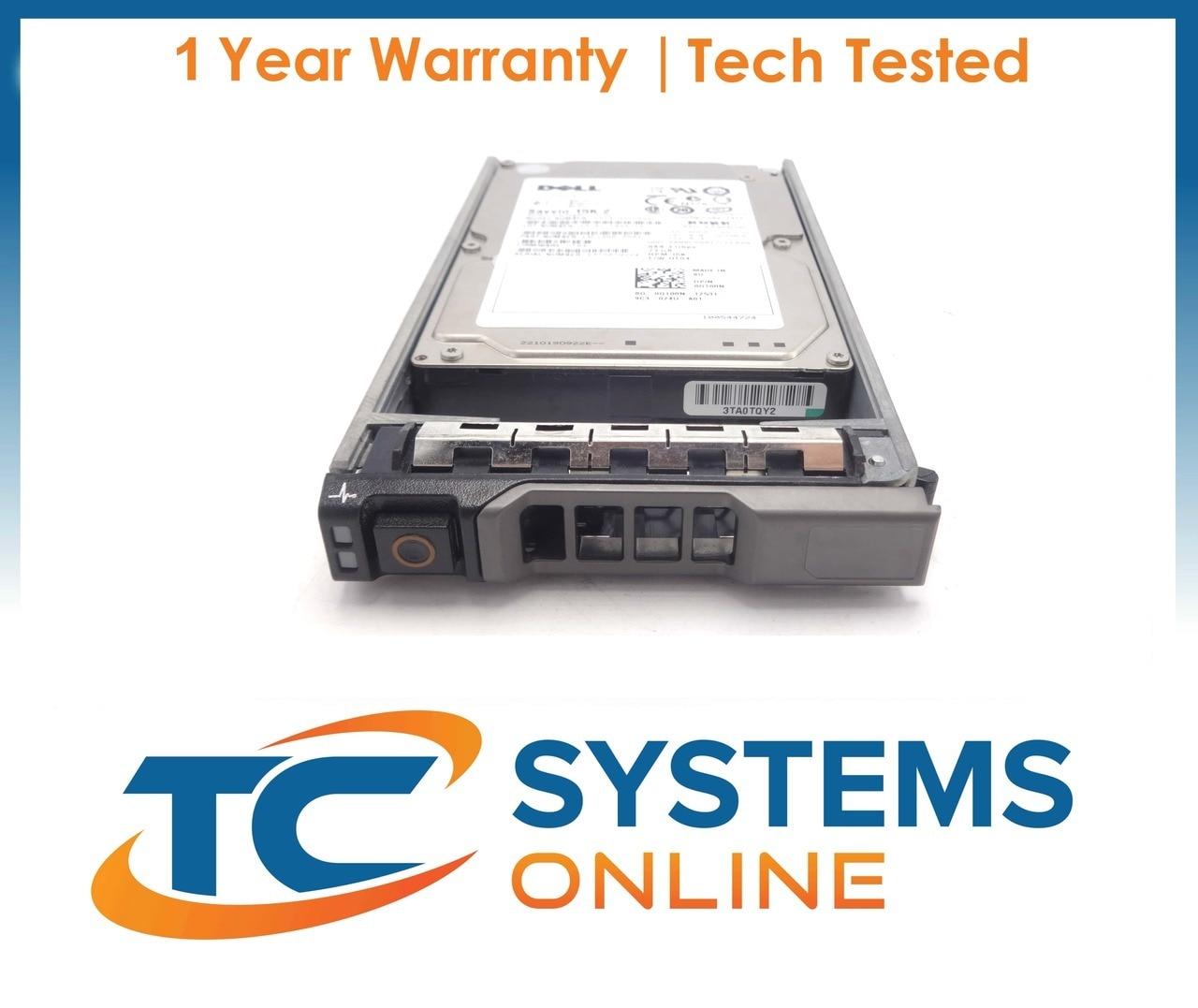 "Dell Poweredge R910 300GB 10K 2.5/"" SAS 6GBPS Hard Drive STK1011"