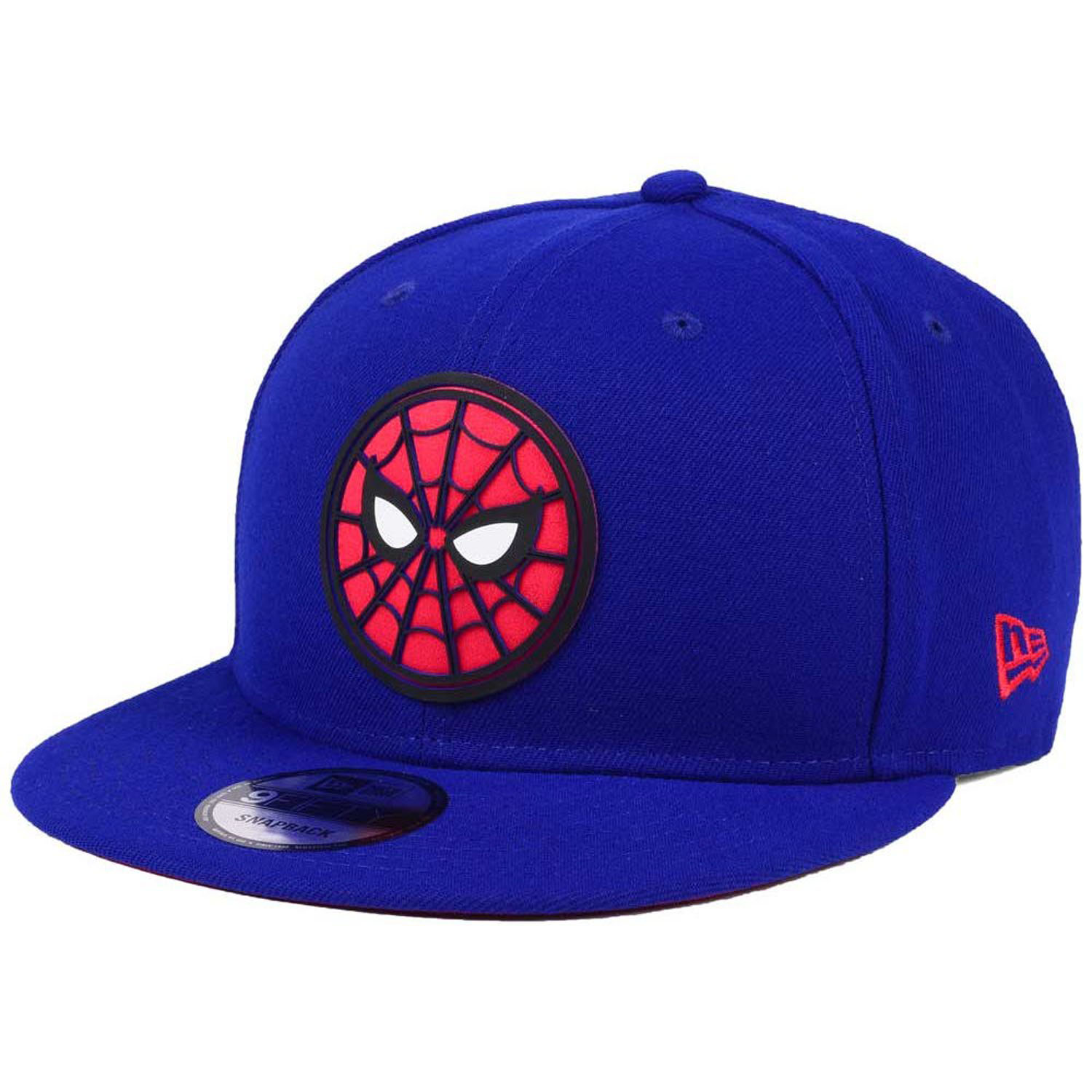 official photos 826cf cbf99 Details about New Era Spider-Man Homecoming Beveled Circle Face Logo 9Fifty  Snapback Cap Hat
