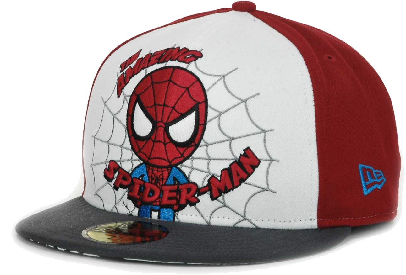 38b2ee91eaf Details about Tokidoki x Marvel New Era Amazing Spider-Man Chibi Spidey  59Fifty Fitted Cap Hat