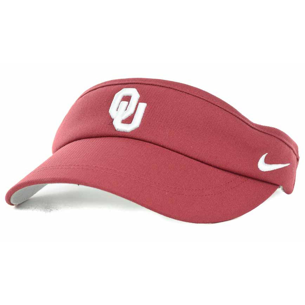 wholesale dealer 206dd b8e35 Details about Nike Oklahoma Sooners Coaches Sideline Adjustable Dri-FIT  Visor-Crimson Red NEW