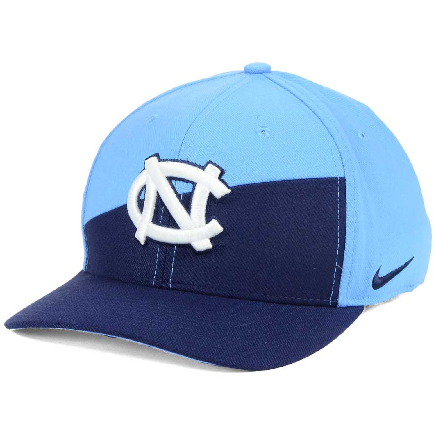 big sale 2307d d88e4 ... coupon code for details about nike north carolina tar heels unc swoosh  flex stretch colorblock slant