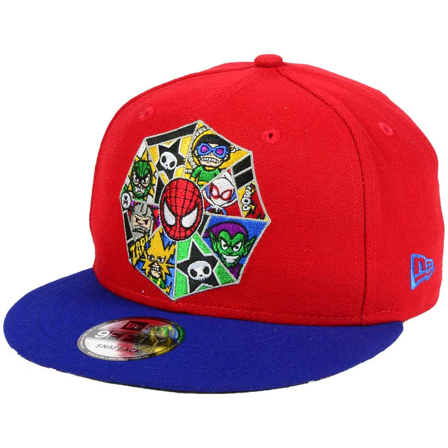 07c56f358a7 Details about Tokidoki Marvel New Era Spider-Man Spidey Character Web  9Fifty Snapback Cap Hat
