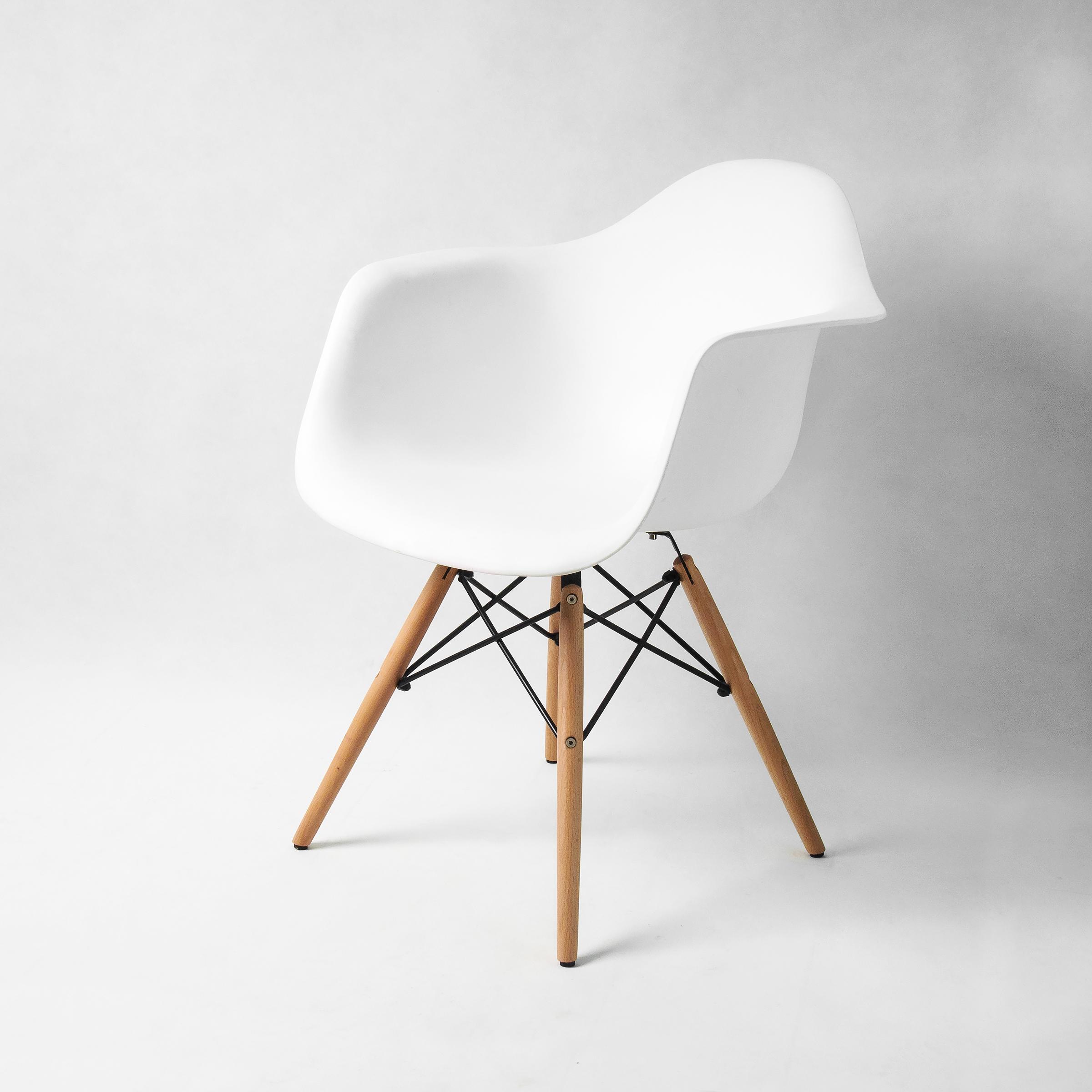 Buschman Set of Four 4 Mid Century Modern Dining Room Armchairs