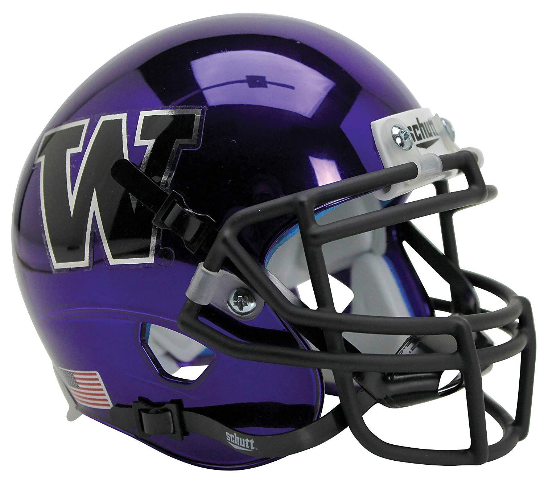 NEW WASHINGTON STATE COUGARS ALTERNATE WHITE NCAA SCHUTT MINI FOOTBALL HELMET