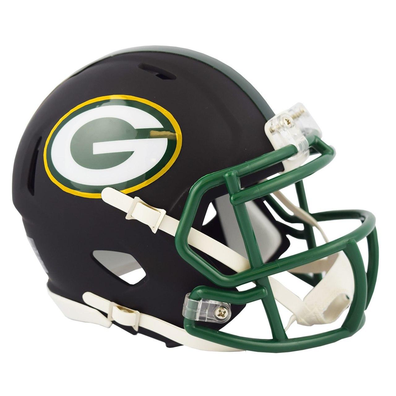 Sports Collectibles Green Bay Packers Riddell Mini Football Helmet New In Riddell Box Sports Outdoors Mini Helmets