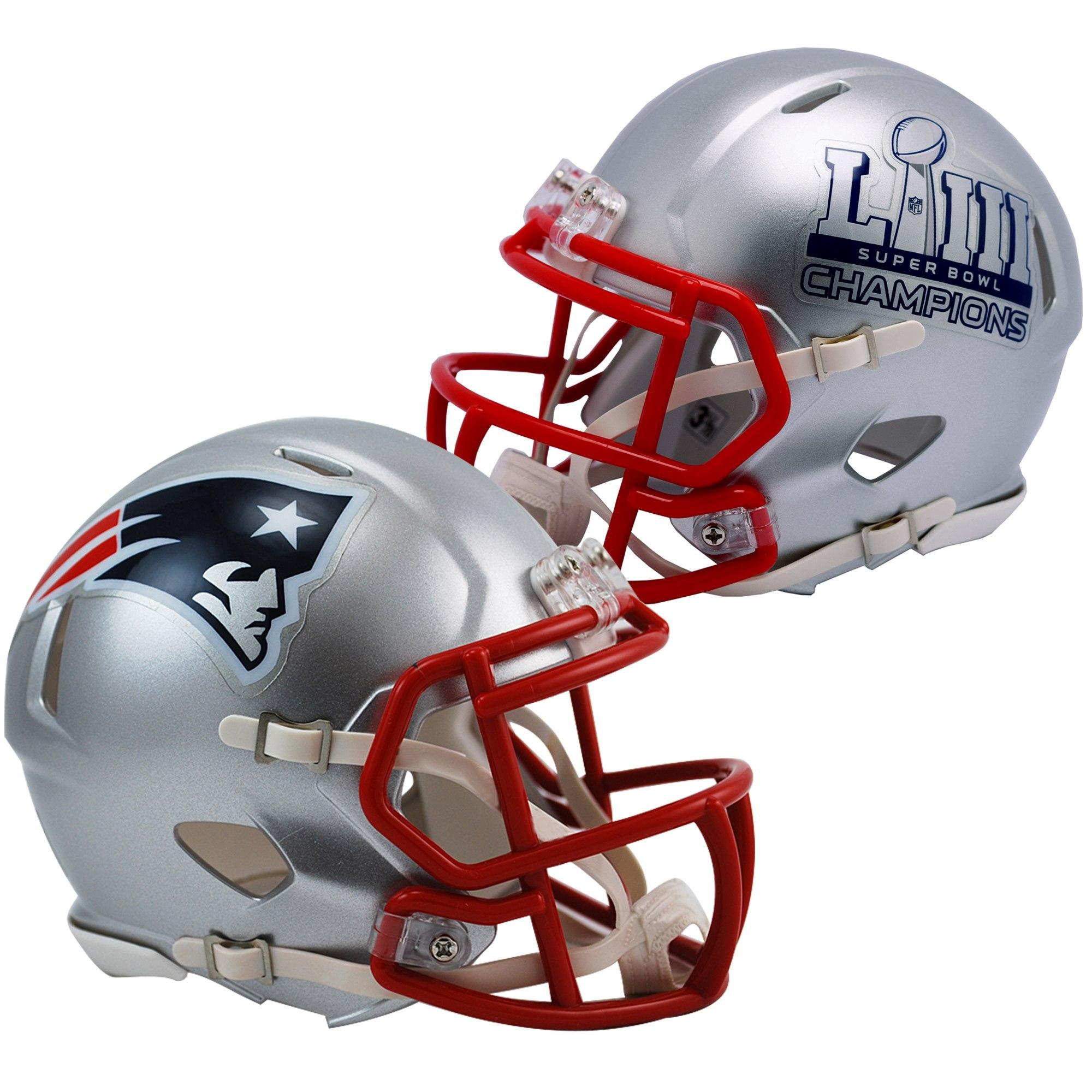 New England Patriots Super Bowl LIII Champions Mini Bobbleheads 4-pack Set