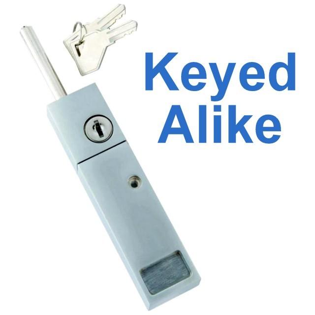 5140 645 Keyed Alike Patio Door Lock Chrome Hickory First Watch Security 78555051402 Ebay