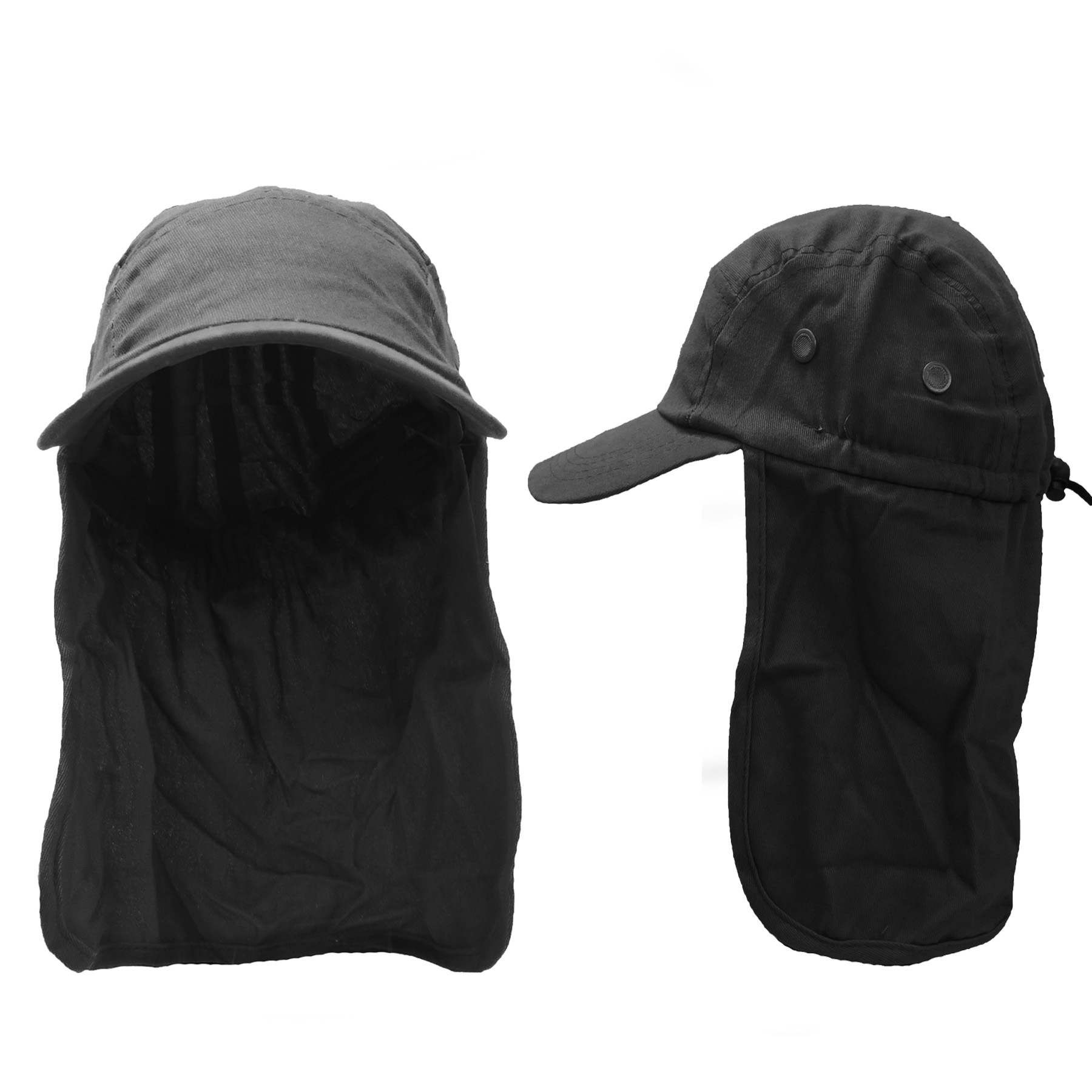 472eef2ec2a5d Details about Magg Fishing Cap with Ear and Neck Flap Cover