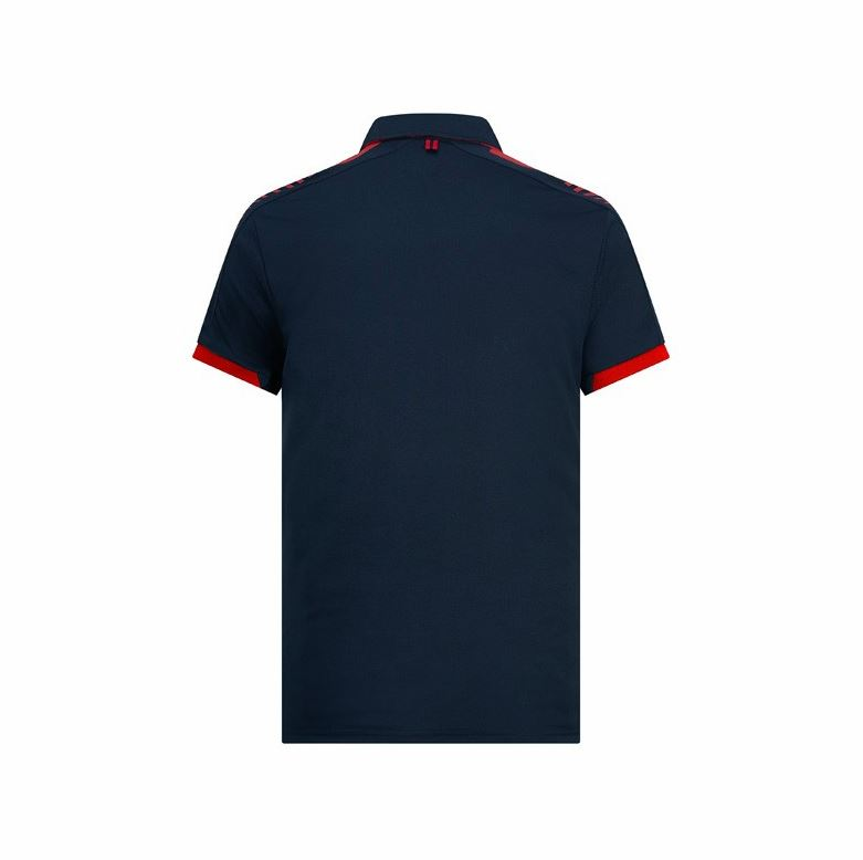 Red-Bull-Racing-Men-039-s-F1-Accelerate-Blue-Polo-Shirt thumbnail 6
