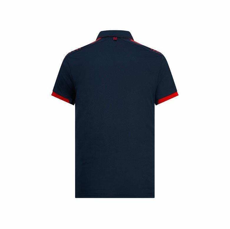 Red-Bull-Racing-Men-039-s-F1-Accelerate-Blue-Polo-Shirt thumbnail 14