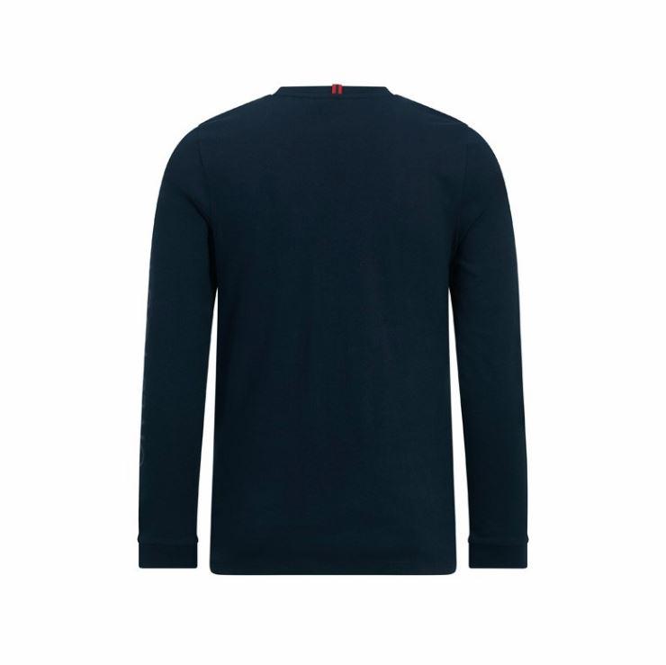 Red-Bull-Racing-F1-Unisex-Long-Sleeve-Logo-T-Shirt-Blue thumbnail 4