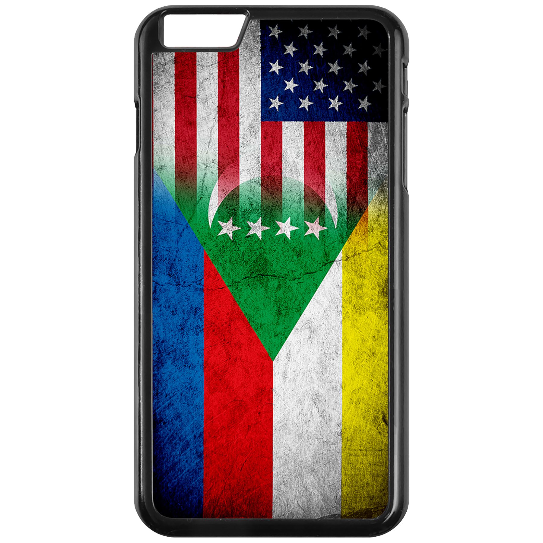 Apple-iPhone-Case-with-Flag-of-Comoros-Comorian-Many-Design-Options thumbnail 82