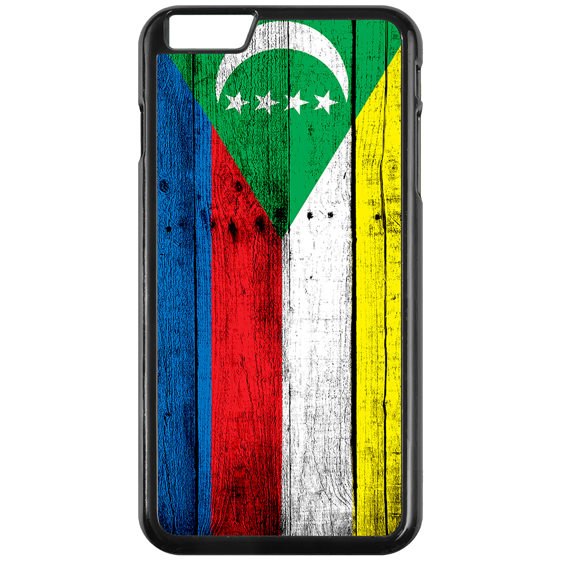 Apple-iPhone-Case-with-Flag-of-Comoros-Comorian-Many-Design-Options thumbnail 7