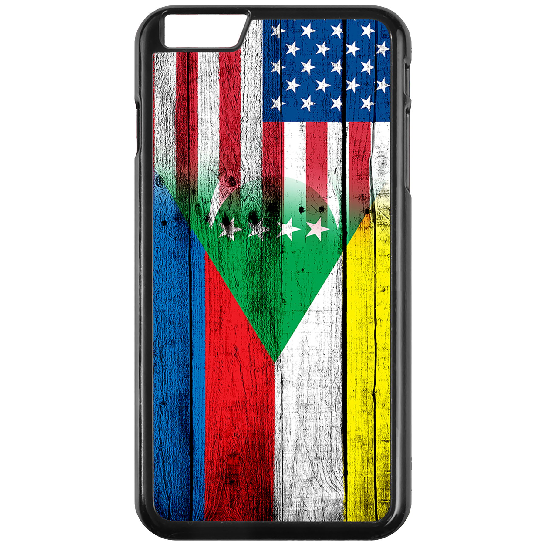 Apple-iPhone-Case-with-Flag-of-Comoros-Comorian-Many-Design-Options thumbnail 18