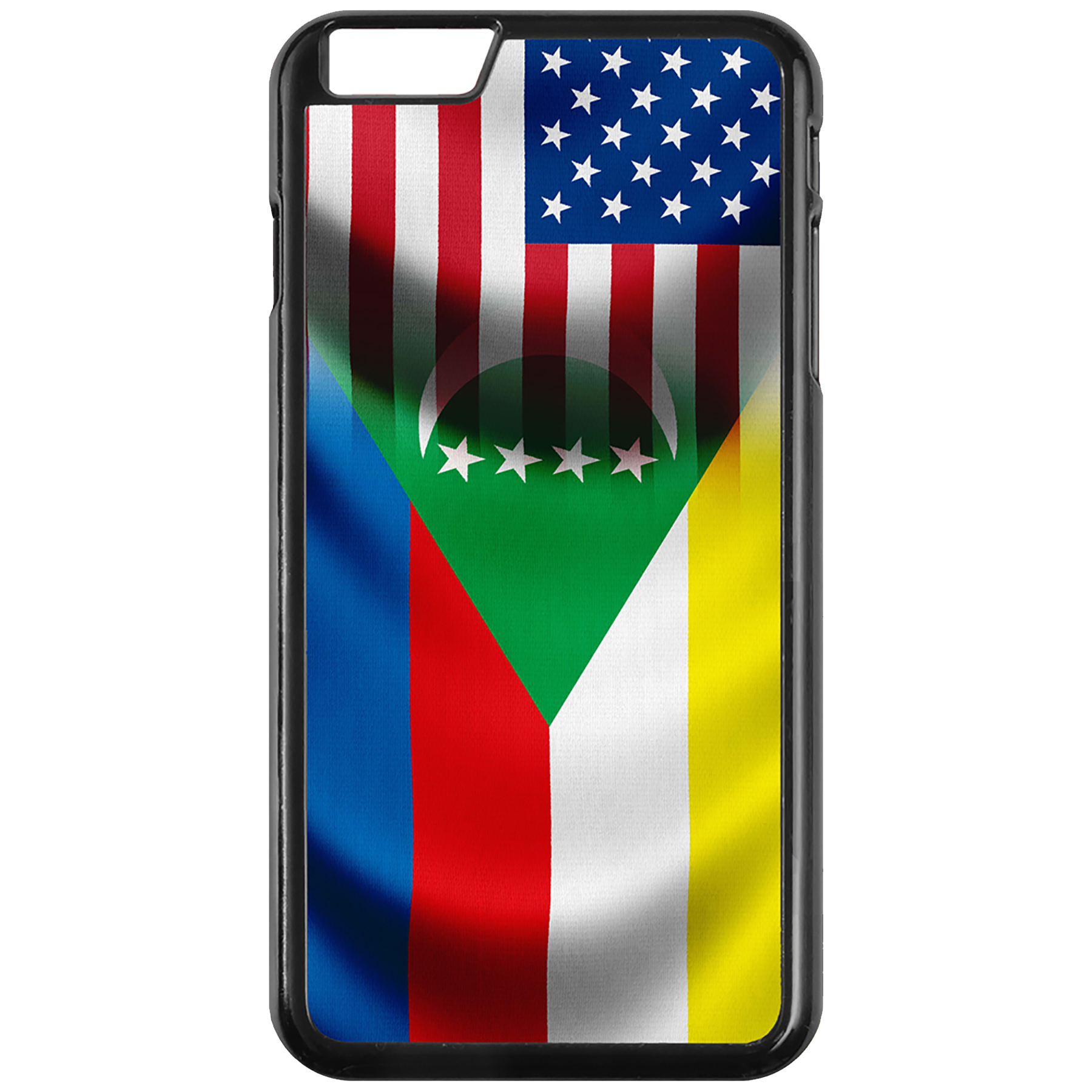 Apple-iPhone-Case-with-Flag-of-Comoros-Comorian-Many-Design-Options thumbnail 39