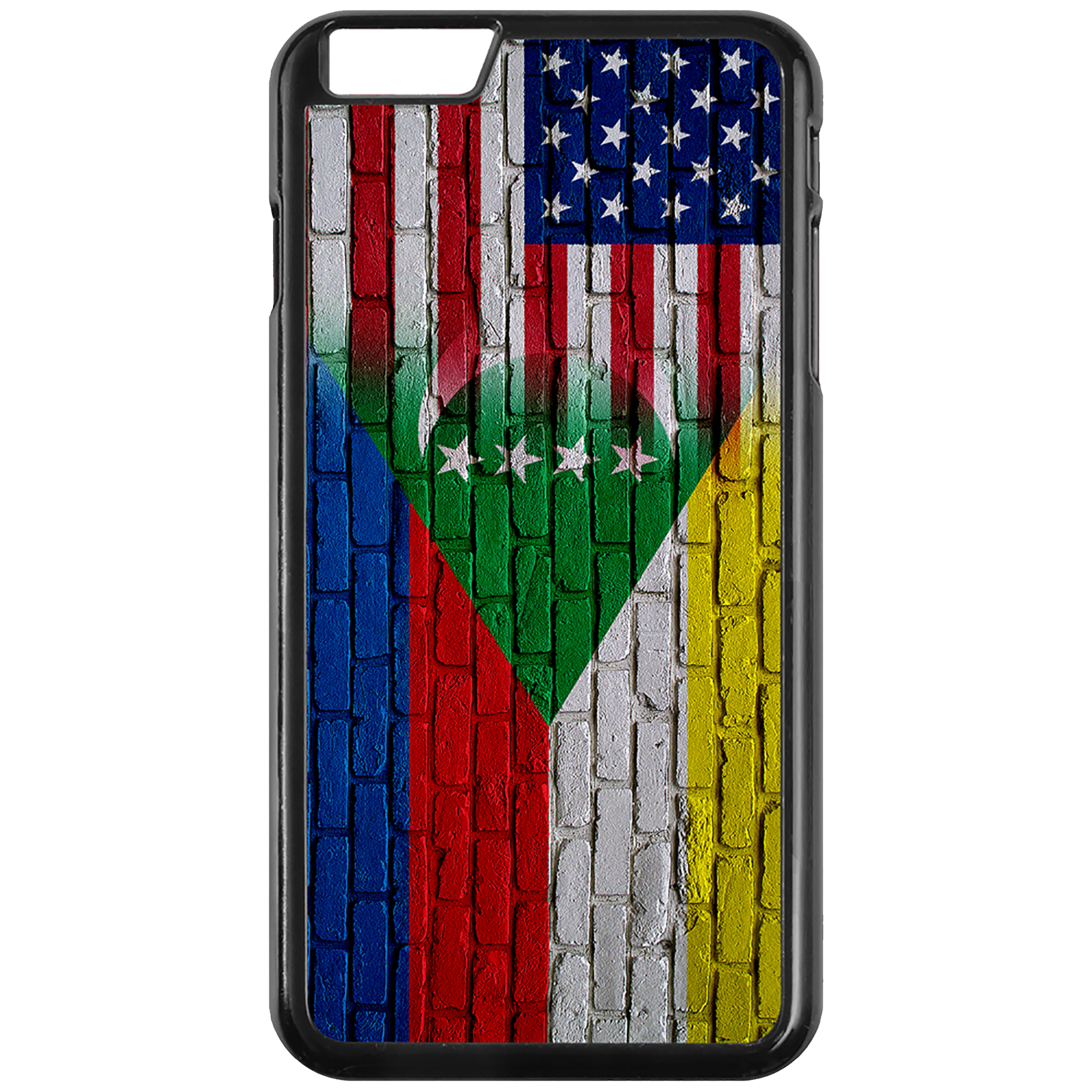 Apple-iPhone-Case-with-Flag-of-Comoros-Comorian-Many-Design-Options thumbnail 63